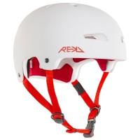 Rekd Elite Helmet White/Red 2019