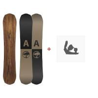 Snowboard Arbor Element 2019 + Fixations de snowboard11914F18