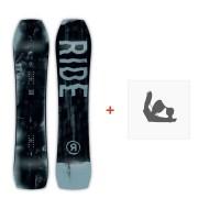 Snowboard Ride Warpig 2019 + Fixations de snowboard12C0002.1.1