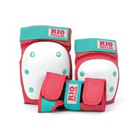 Rio Roller Triple Pad Set Purple/Orange 2019