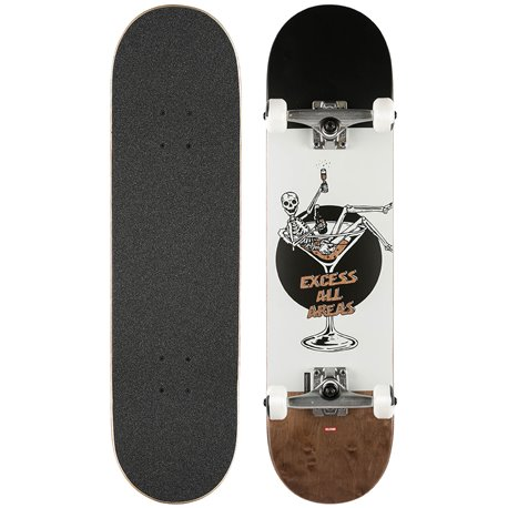 Skateboard Globe G1 Excess 8.0'' - White/Brown - Complete 2019