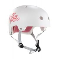 Rio Roller Script Helmet White 2019