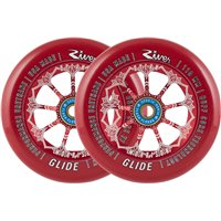 River Glide Dylan Morrison Pro Scooter Wheels 2-Pack 110mm - Bloody 2018