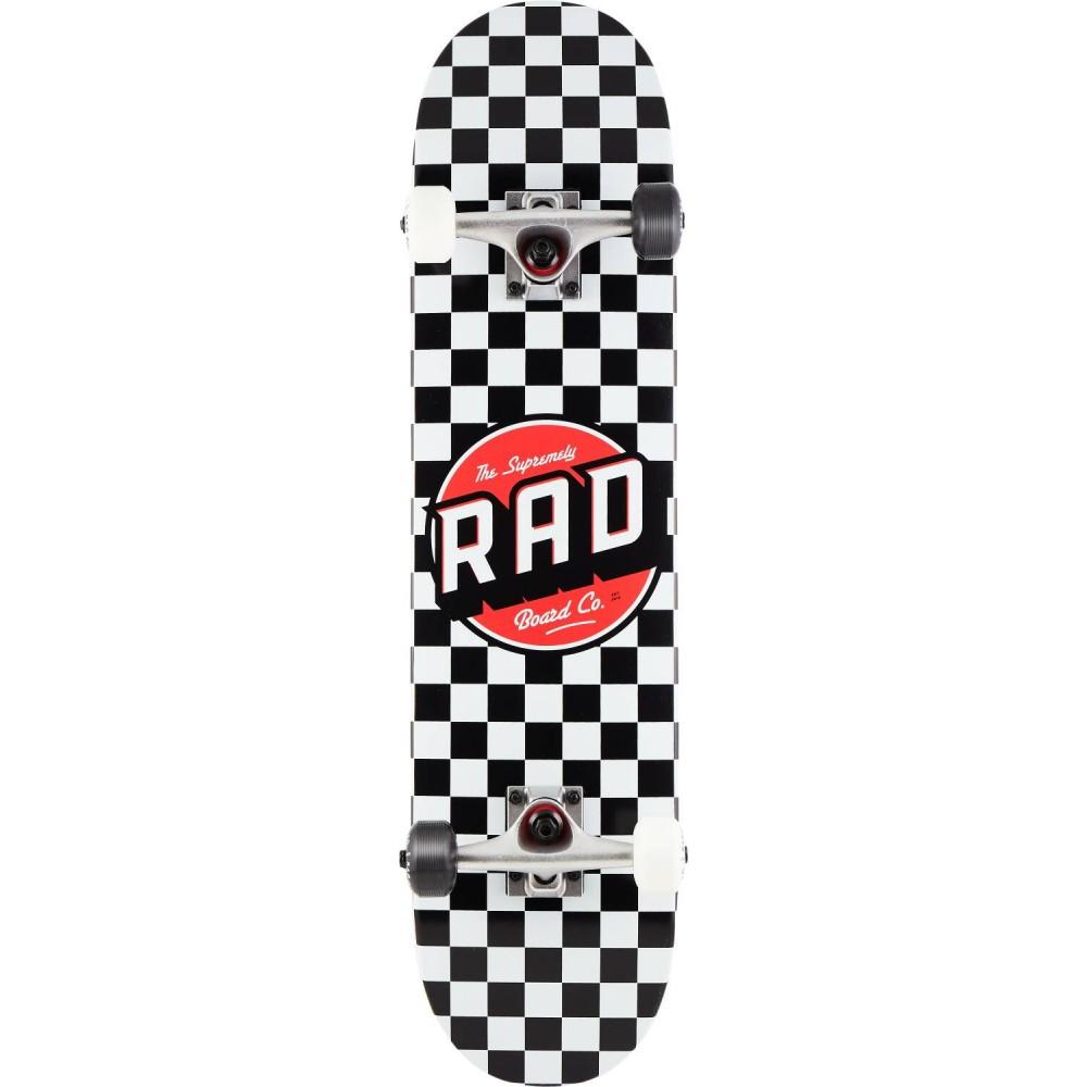 "Orange Volts Rad Dude Crew Complete Skateboard 7.5/"""