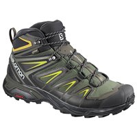 Salomon Shoes X ULTRA 3 MID GTX Castor Gra/Bk/G 2018