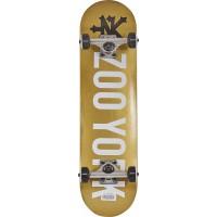 "Skateboard Zoo York Logo 7.5"" Complete 2019"