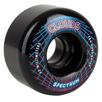 Clouds Urethane Wheels Spectrum 78a (pack 4) Black 65 MM 2019
