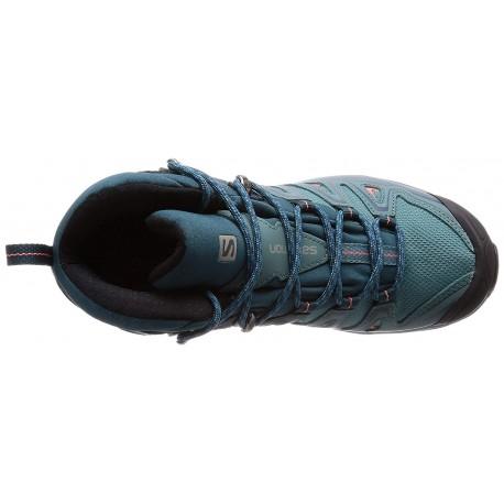 Salomon Shoes X Ultra 3 Mid GTX W Hydro./Reflec 2018