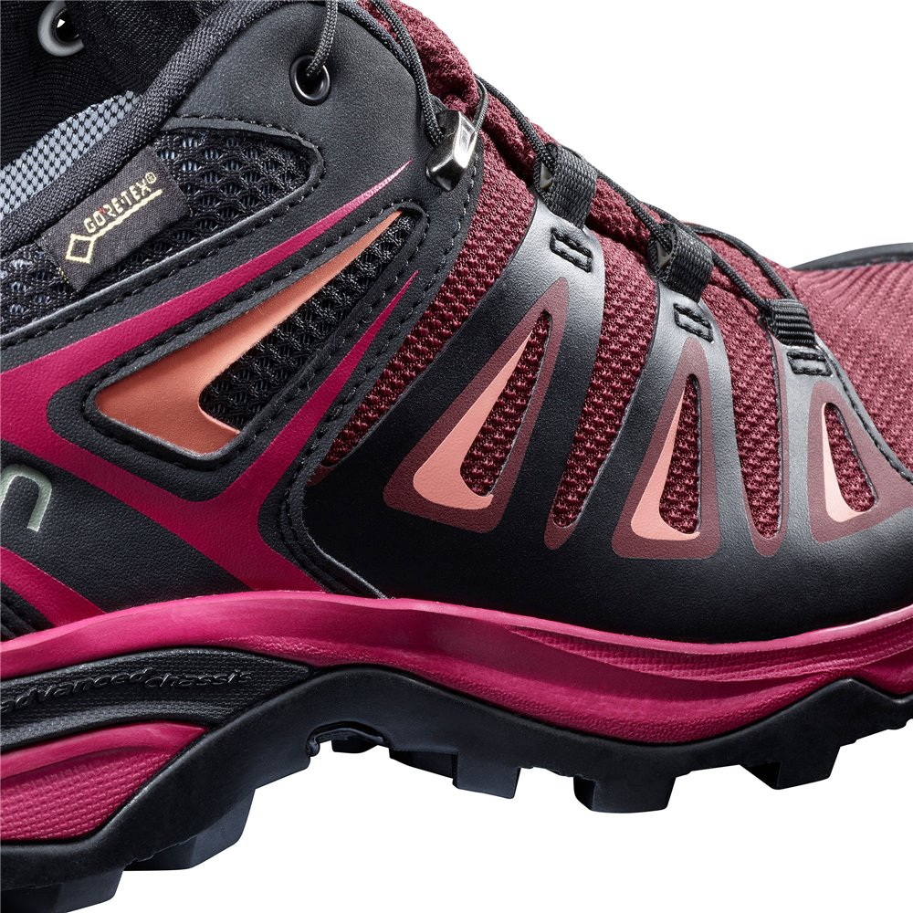 Salomon Shoes X Ultra 3 GTX W Tawny PortBkLiv 2019 Salomon