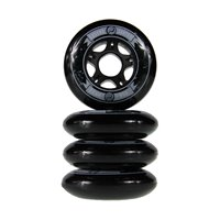 Ground control Wheels 80mm 85A Black 2019