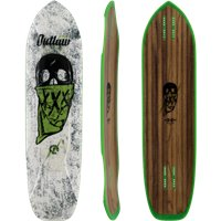 """Moonshine Outlaw White/Green 38.25"""" - Deck Only 2019"""
