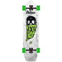 """Moonshine Outlaw White/Green 38.25\\"""" - Complete 2019"""