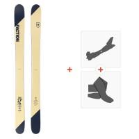 Ski Faction Candide 2.0 YTH 2019 + Fixations randonnée + Peau