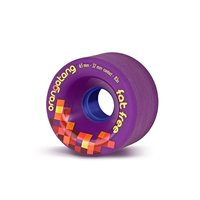 Orangatang Wheels Fat Free 65mm 83a Violet 2019