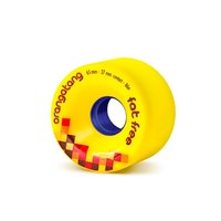 Orangatang Wheels Fat Free 65mm 86a Jaune 2019