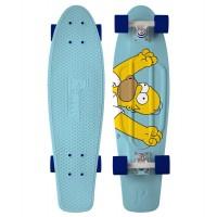 "Penny Skateboard Simpsons Homer 27"" - complete 2019"