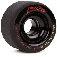 Blood Orange Morgan Pro Black 70mm 82A Wheels 2016