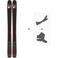 Ski Movement Alp Tracks 100 Ltd 2020 + Fixations de ski randonnée + Peaux