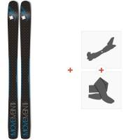 Movement Alp Tracks 106 Ltd 2019 + Fixations de ski randonnée + PeauxMOV-A-18085