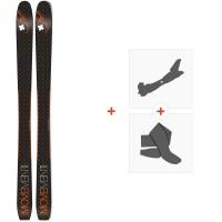 Movement Alp Tracks 94 Ltd 2019 + Fixations de ski randonnée + PeauxMOV-A-18083