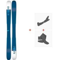 Movement Fly Two 115 2019 + Fixations de ski randonnée + PeauxMOV-A-18032