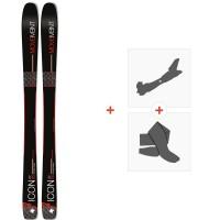 Ski Movement Icon 95 Titanal 2020 + Fixations de ski randonnée + Peaux