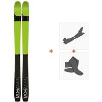 Ski Movement Vertex 84 2019 + Fixations de ski randonnée + PeauxMOV-A-17025