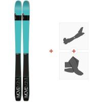 Ski Movement Vista 84 W 2019 + Fixations de ski randonnée + PeauxMOV-A-17027