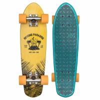 Skateboard Globe Bantam Evo 24'' - Yellow / Blue Maple - Complete 2019