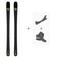 Ski Black Crows Orb 2020 + Fixations de ski randonnée + Peaux100992