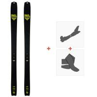 Ski Black Crows Solis 2020 + Fixations de ski randonnée + Peaux100841