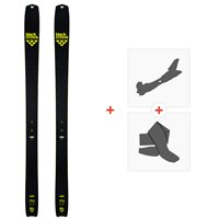 Ski Black Crows Solis 2020 + Fixations de ski randonnée + Peaux100841