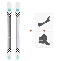 Ski Black Crows Atris 2020 + Fixations de ski randonnée + Peaux101010