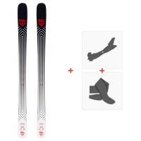 Ski Black Crows Camox 2020 + Fixations de ski randonnée + Peaux101002
