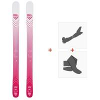 Ski Black Crows Camox Birdie 2020 + Fixations de ski randonnée + Peaux101032