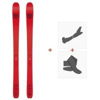 Ski Black Crows Camox Freebird 2020 + Fixations de ski randonnée + Peaux101020