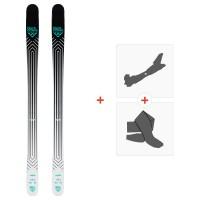 Ski Black Crows Captis 2020 + Fixations de ski randonnée + Peaux