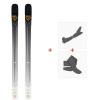 Ski Black Crows Daemon 2020 + Fixations de ski randonnée + Peaux101000