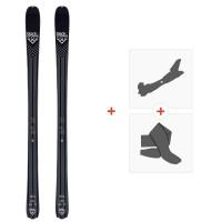 Ski Black Crows Divus 2020 + Fixations de ski randonnée + Peaux100994