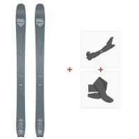 Ski Black Crows Ferox Freebird 2020 + Fixations de ski randonnée + Peaux101014