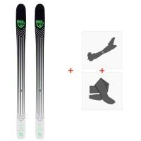 Ski Black Crows Navis 2020 + Fixations de ski randonnée + Peaux100998