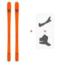 Ski Black Crows Vastus Freebird 2020 + Fixations de ski randonnée + Peaux101026