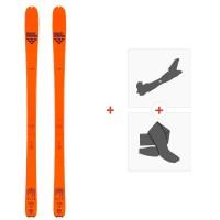 Ski Black Crows Vastus Freebird 2020 + Fixations de ski randonnée + Peaux101026