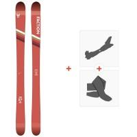 Ski Faction Candide 0.5 2020 + Fixations de ski randonnée + PeauxFCSK20-CT05-ZZ