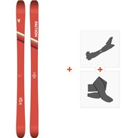 Ski Faction Candide 1.0 2020 + Fixations de ski randonnée + PeauxFCSK20-CT10-ZZ