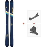 Ski Faction Candide 2.0 2020 + Tourenbindungen + FelleFCSK20-CT20-ZZ