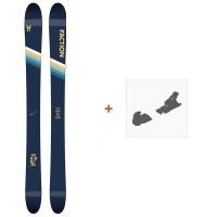 Ski Faction Candide 2.0 YTH 2020 + Fixations de skiFCSK20-CT2Y-ZZ