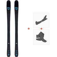 Ski Black Crows Vertis Flat 2020 + Fixations de ski randonnée + Peaux101191