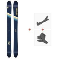 Ski Faction Candide 2.0 YTH 2020 + Fixations de ski randonnée + PeauxFCSK20-CT2Y-ZZ