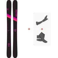 Ski Faction Candide 3.0 X 2020 + Fixations de ski randonnée + PeauxFCSK20-CT3X-ZZ